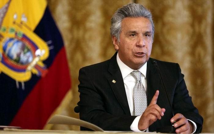 El presidente Lenín Moreno decretó el estado de excepción en Ecuador