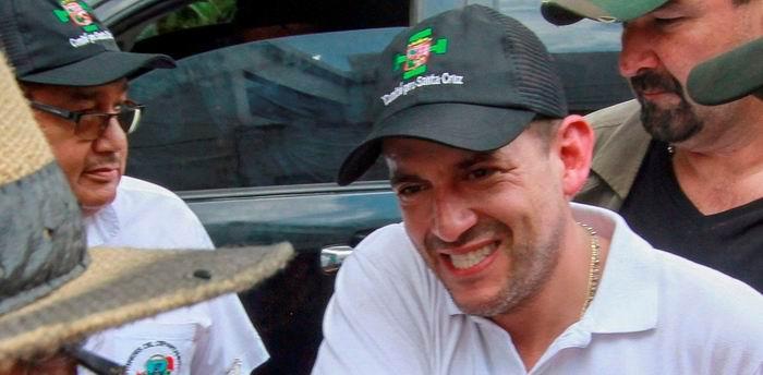Luis Fernando Camacho es el presidente del Comité Cívico de la ciudad de Santa Cruz