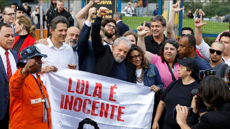 Libertad de Lula devuelve la esperanza
