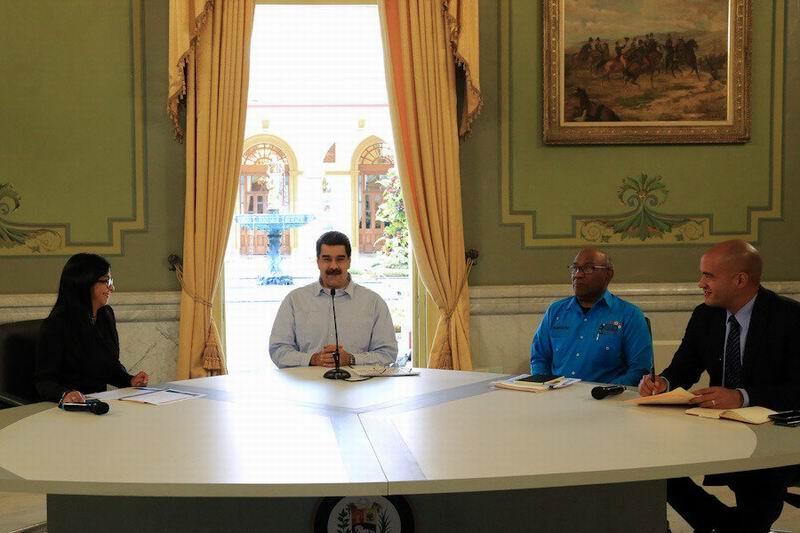 Destaca Nicolás Maduro avances en la Mesa de Diálogo con la oposición
