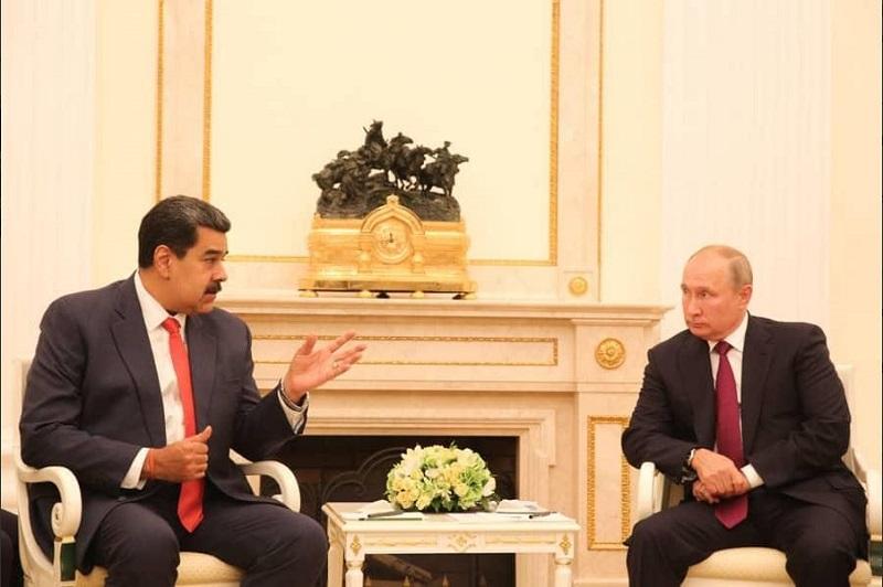 Analizan Putin y Maduro la cooperación económica entre Rusia y Venezuela