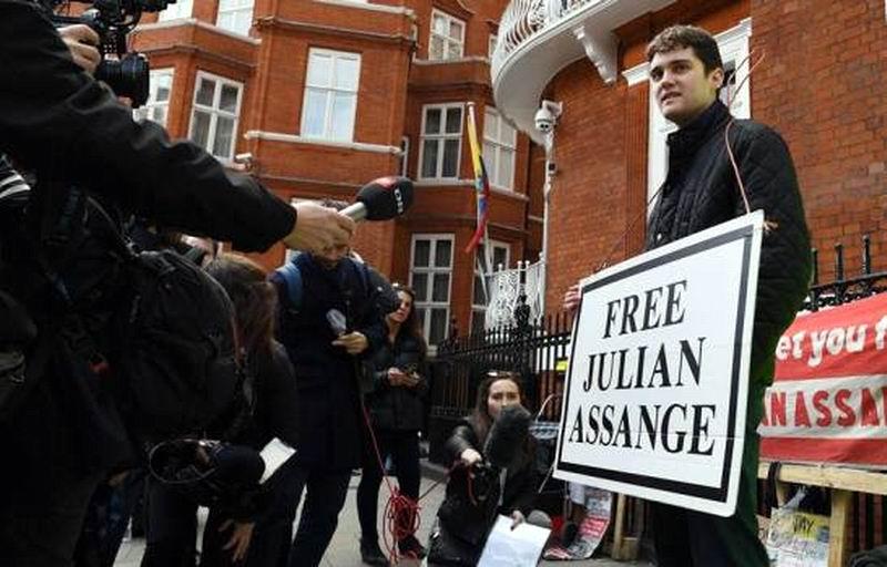 Repercusiones por Assange