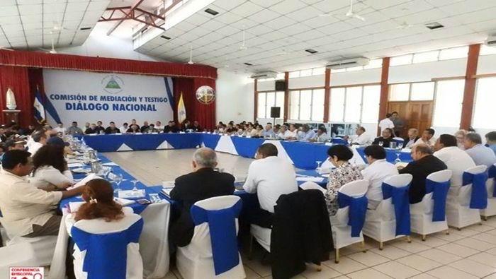 Se retira la oposición nicaragüense de la Mesa de Dialogo