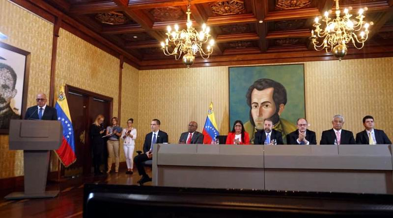La Mesa Nacional de Diálogo de Venezuela