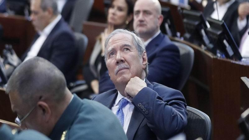 Testifica ante el senado el ministro de Defensa de Colombia