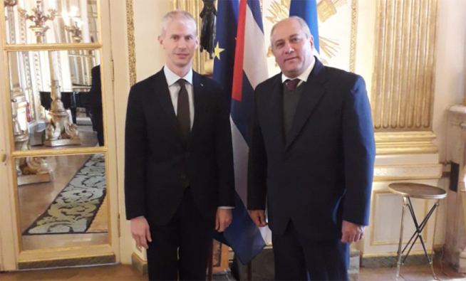 Cuba and France recognize historical cultural ties