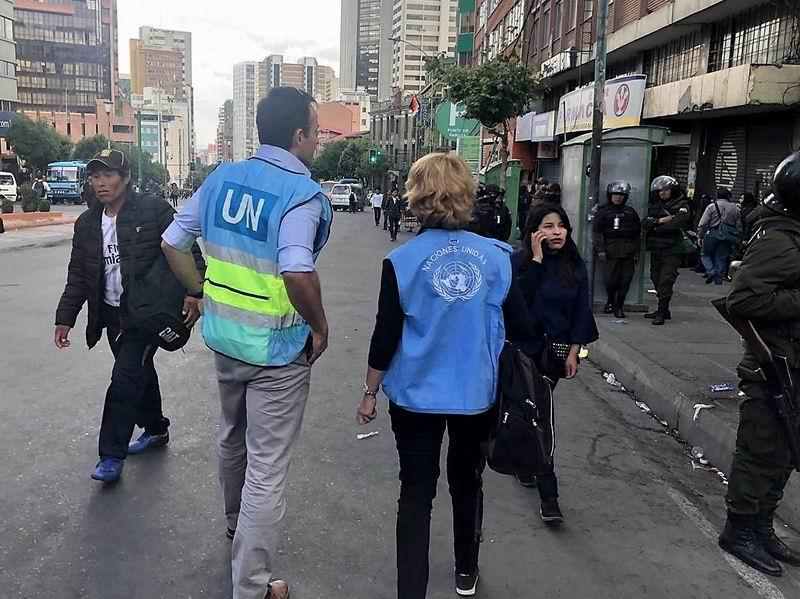 Documenta la ONU posibles graves violaciones de los Derechos Humanos en Bolivia