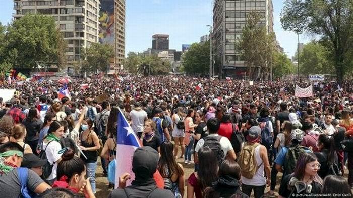 Hoy habrá otro paro nacional en Chile