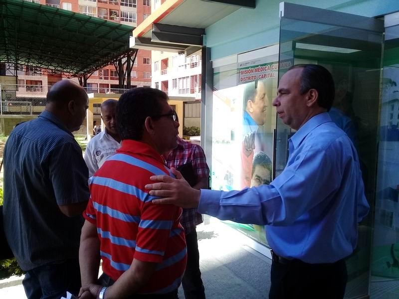 Embajador de Cuba en la República Bolivariana de Venezuela, Rogelio Polanco Fuentes