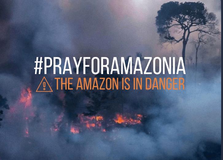 Alarma al Mundo la quema sin precedentes de la Amazonía brasileña