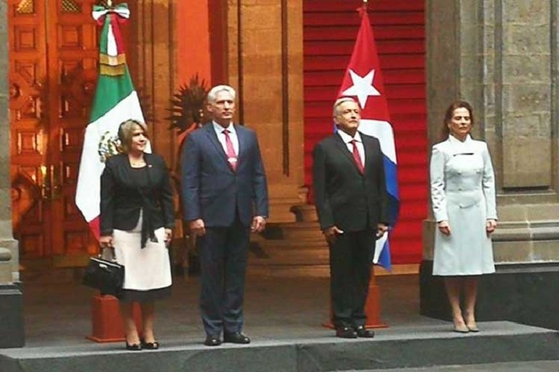Mexican President receives Diaz-Canel