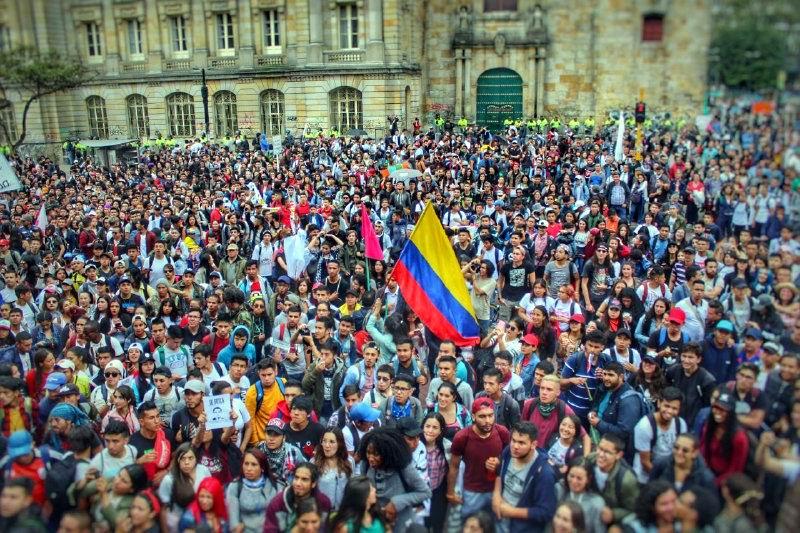 De las protestas en Colombia