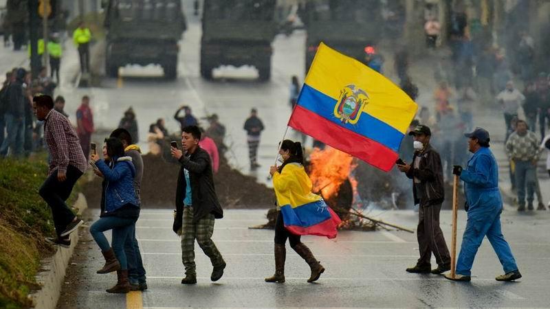 De las protestas en Ecuador