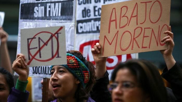 Otro día de protestas en Ecuador