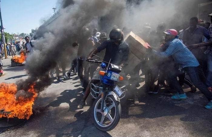 Tensión en Haití tras protestas