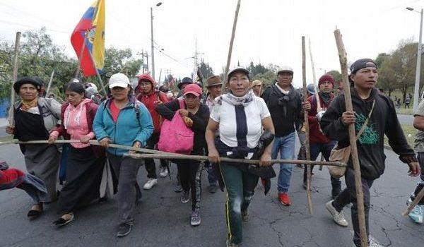 Vive Ecuador jornada de alta tensión con huelga general convocada por el movimiento indígena