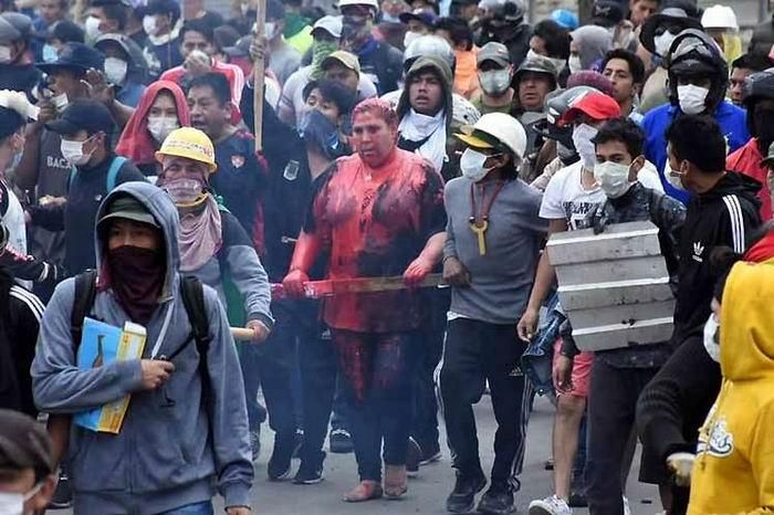 Repudian en Bolivia los actos de violencia de la oposición contra la mujer