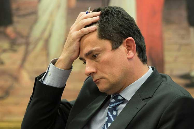 Denuncian en Brasil que el exjuez Moro miente y deshonra su cargo de ministro