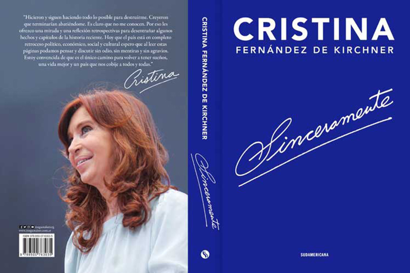 Ex Argentinean President Presents Book on Country´s Recent History