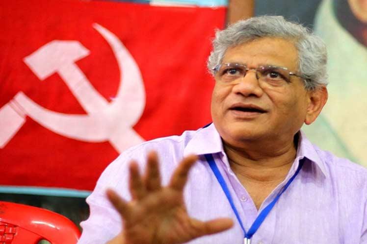 Sitaram Yechury, general secretary of the Communist Party of India (CPI)