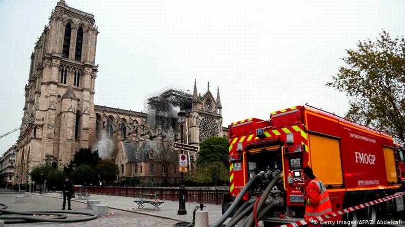 UN Reiterates Total Support to Reconstruction of Notre Dame in Paris