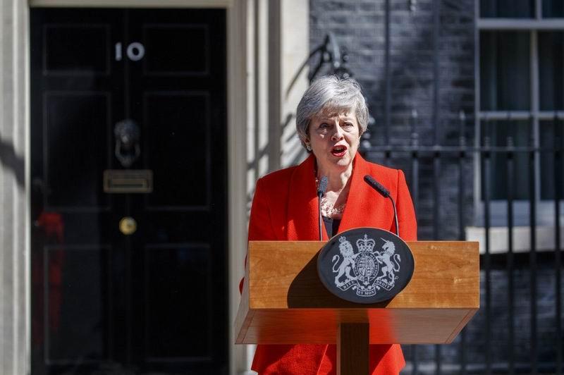 Theresa May dejará el cargo el próximo 7 de junio