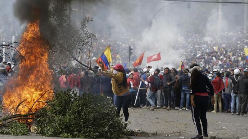 Toque de queda en Ecuador (+VÍDEO)