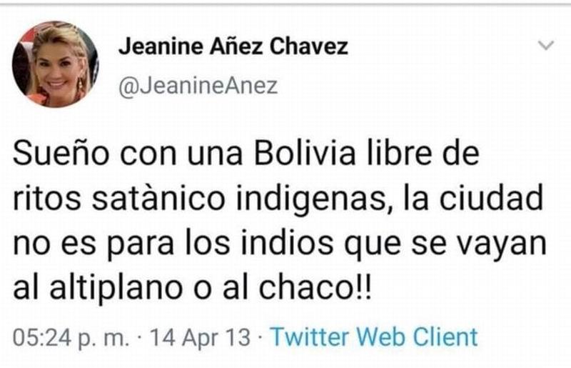 Se autoproclama Jeanine Áñez presidenta de Bolivia
