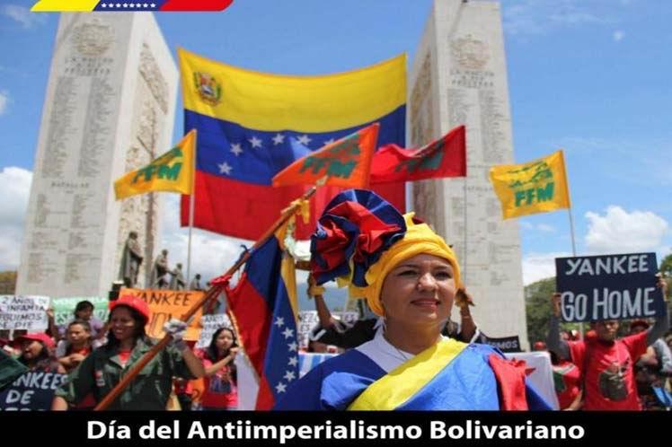 Marcha el Chavismo contra sabotaje imperialista al sistema eléctrico
