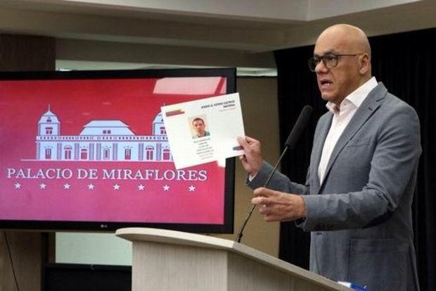 Jorge Rodríguez anuncia detención de cinco personas por