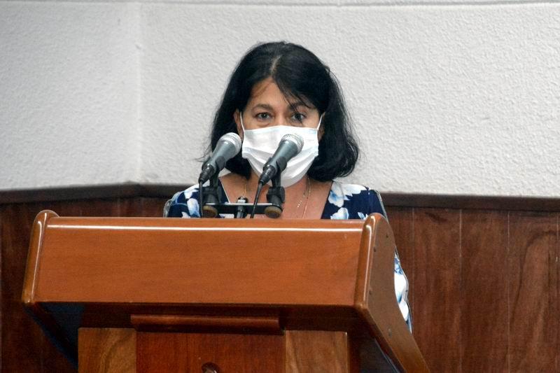 Viceministra del CITMA, Adianez Taboada