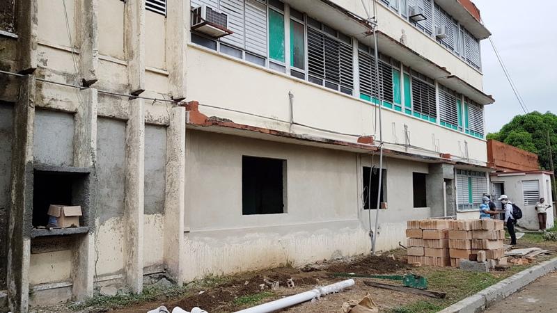 Avanza construcción del Laboratorio de Biología Molecular en Camagüey (+Audio)