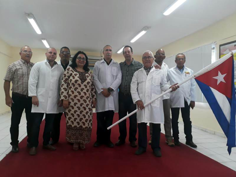 Cuban medical brigade in Venezuela to help faceing COVID-19