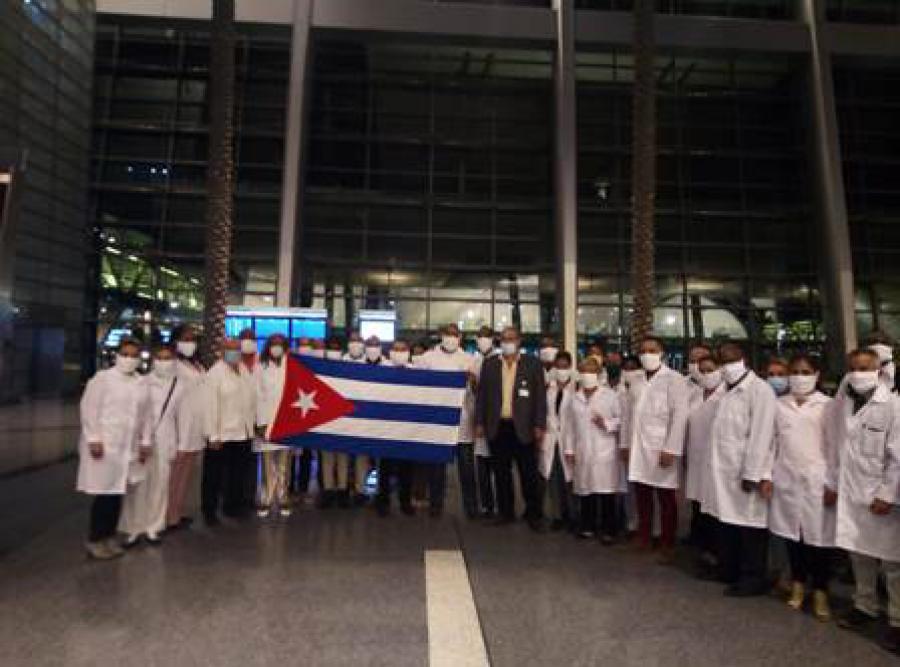 Cuban medical brigade in Qatar to face COVID-19