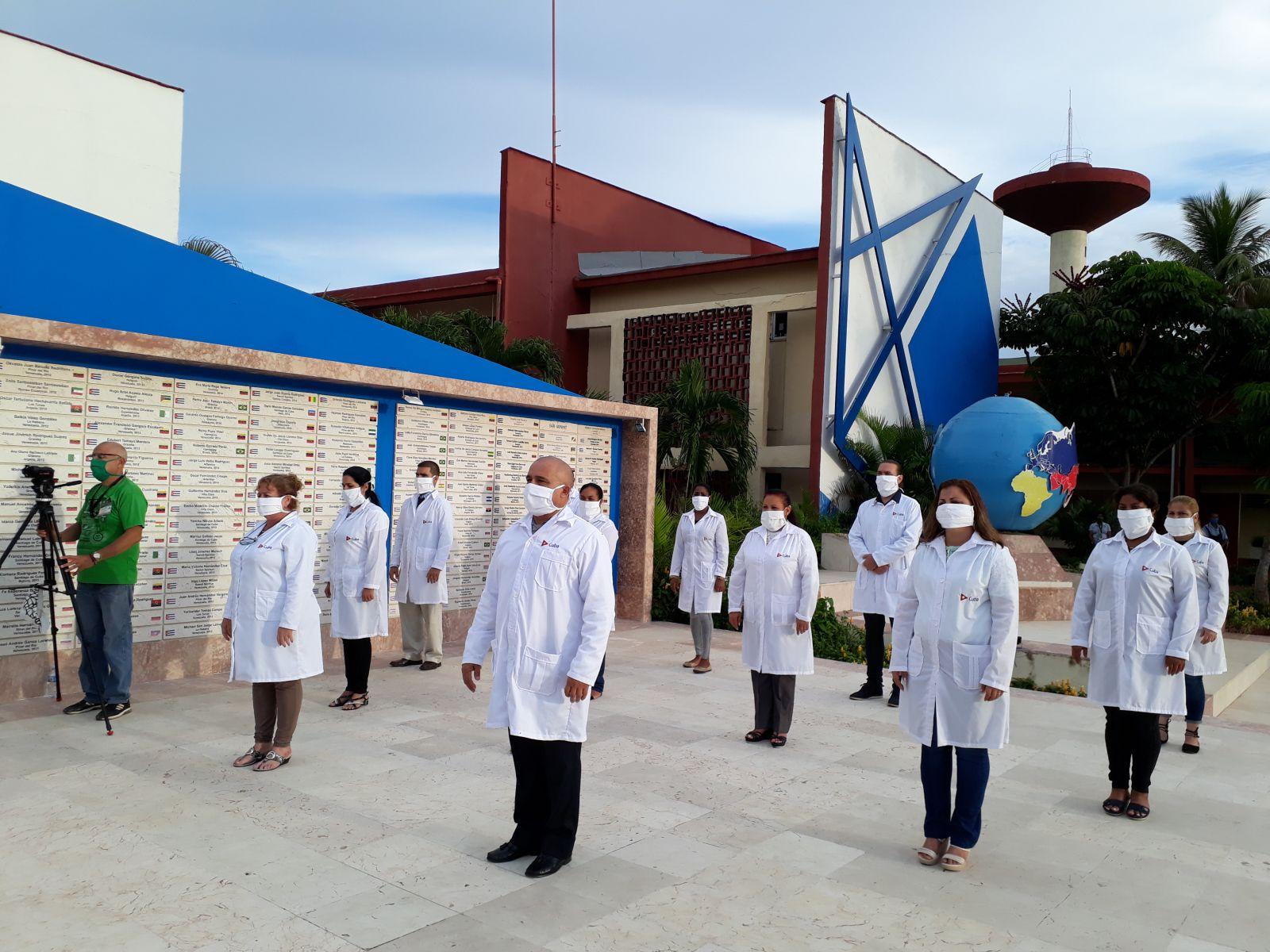 Por primera vez médicos cubanos acuden a la Isla de Montserrat