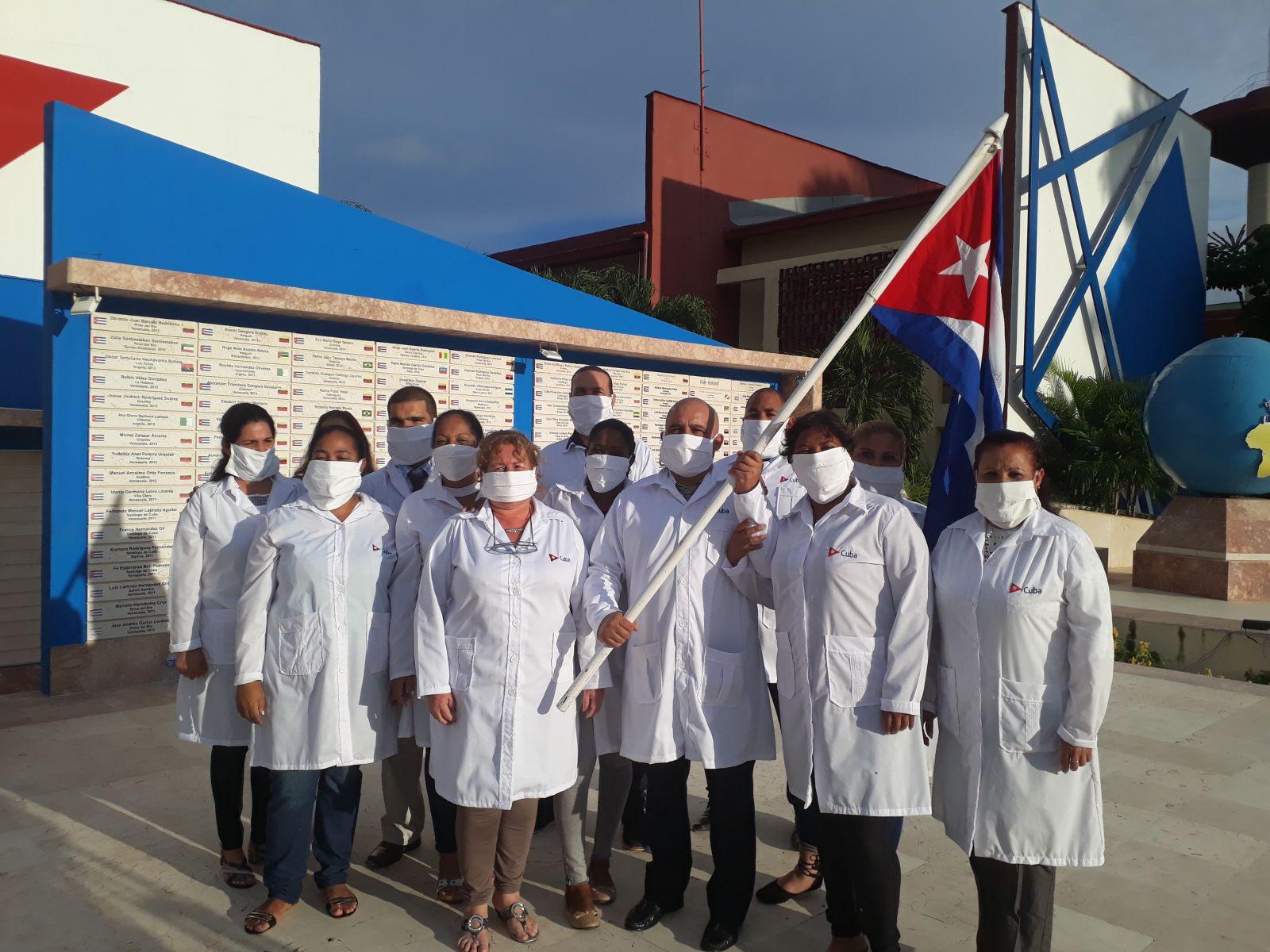 Por primera vez médicos cubanos acuden a la Isla de Montserrat (+Audio)