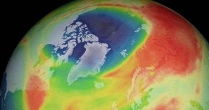 Se cerró el agujero más grande de la Capa de Ozono