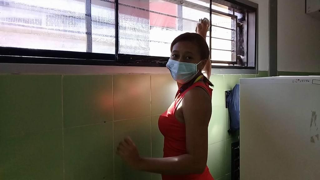 Médicos cubanos... y también buenos en el esfuerzo físico (+Audio y video)