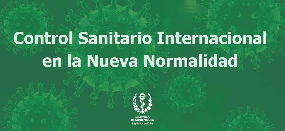 Nota informativa sobre nuevas disposiciones de Control Sanitario Internacional