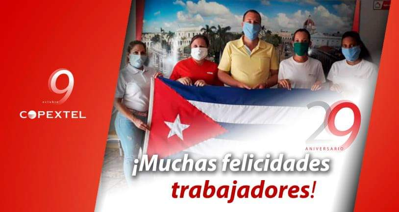 La Empresa cubana Copextel arriba a su aniversario 29
