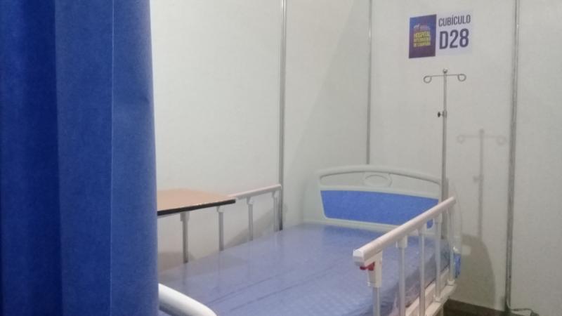 La nueva sala de hospitalización en el Poliedro de la ciudad de Caracas