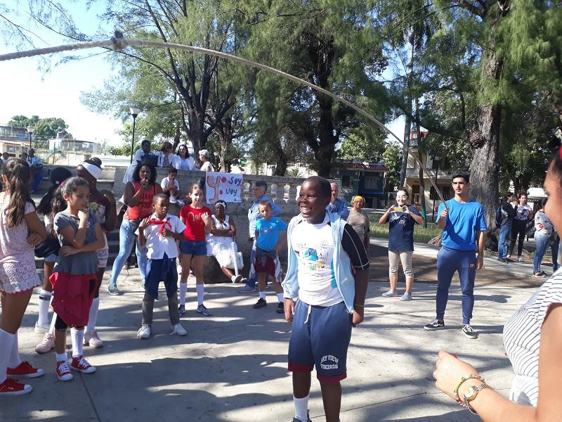 Celebran en parque Córdoba de 10 de octubre actividad nacional por Día Mundial contra el cáncer