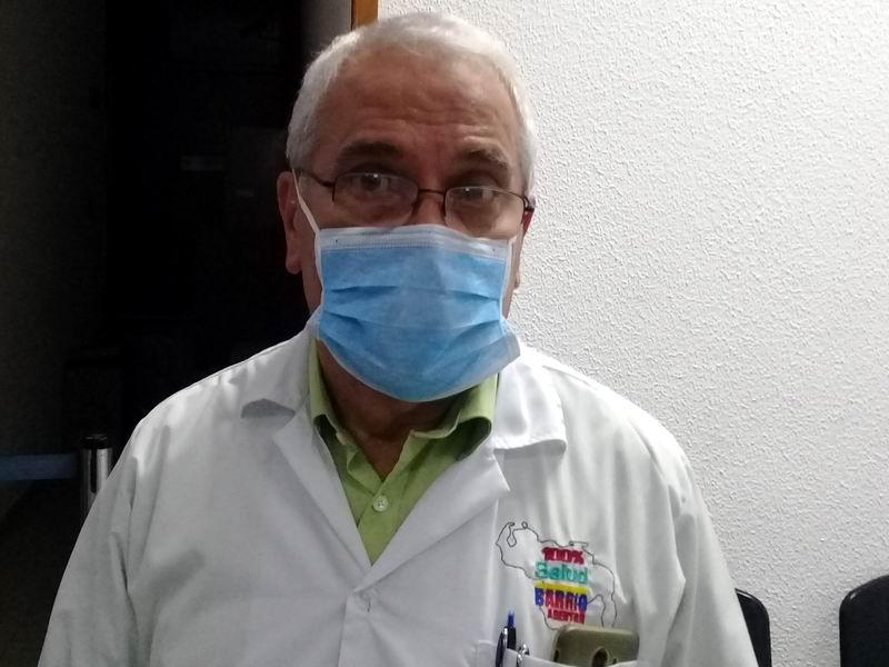 Jefe de la Brigada Médica Internacional Henry Reeve en Venezuela, doctor José Ernesto Betancourt Lavastida