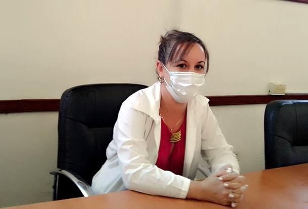 Doctora Bárbara del Rosario Trelles, Epidemióloga del Centro