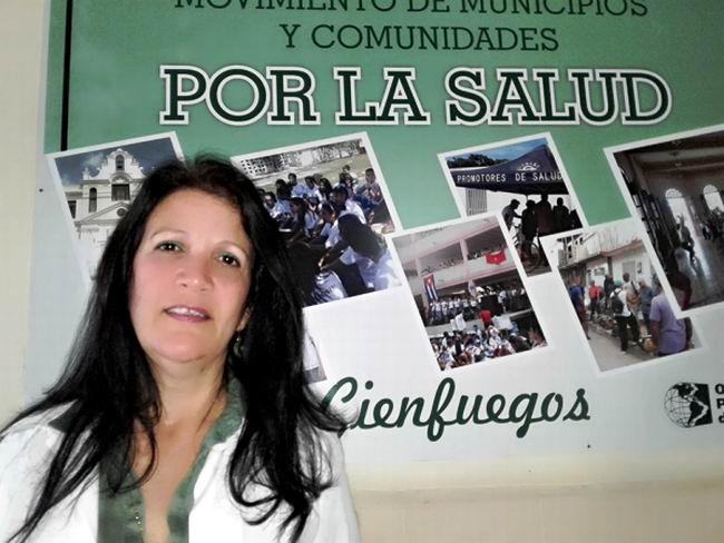 Jefa del Programa Materno Infantil, Doctora Maritza Rodríguez Gavín.