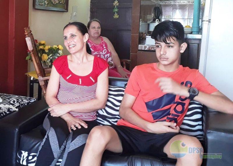 Por la salud, de Camagüey a Italia