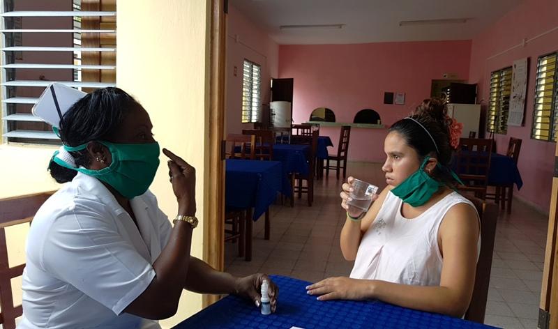Aplican en Camagüey medicamento homeopático preventivo PrevengHo-Vir