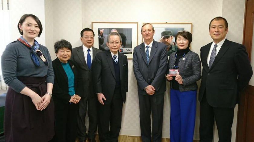 Japanese businessman reiterates interest in collaborating with Cuban health sector