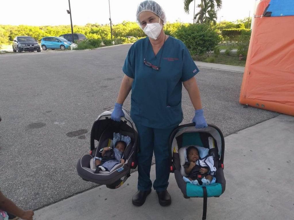 """La licenciada en enfermería Ileana Taset de la provincia Granma, considera que lo mejor de este tiempo ha sido """"la gratitud de los pacientes"""
