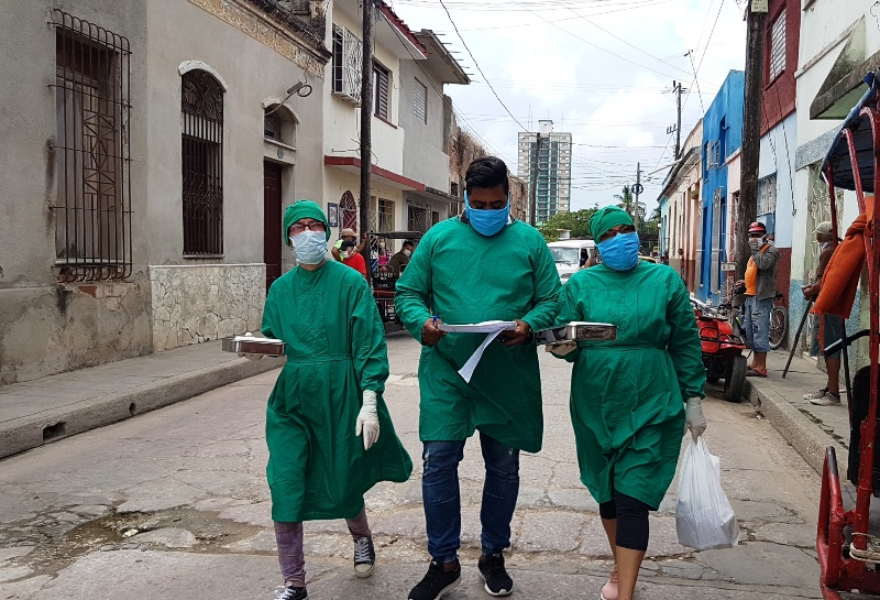 Camagüey amplía cobertura de pesquisaje a la Covid-19